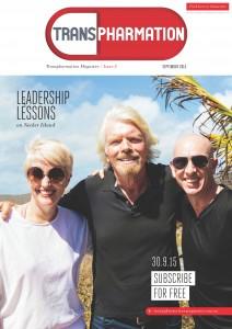 Cathie Reid Richard Branson Stuart Giles Transpharmation Magazine