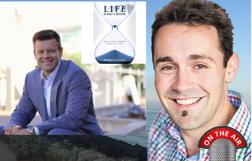 Interview with Matthew Michalewicz, Author of 'Life in Half a Second' and CEO Complexica, Goal setting, 5 Doors of Success, 3 Biggest Reasons why most Goals fail, Effective Goals, Accountability, The goal pyramid